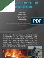 Diagramas de Fase Sistema Hierro Carbono (1)
