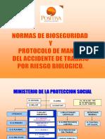 c. Normas de Bioseguridad y Manejo Del Accidente de Trabajo Por Rb