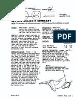 Service Bulletin - MD80-71-025-00--Upper Engine Cowling Door