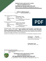 Surat Penugasan 2015