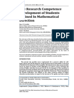 The Research Competence Development of Students Trained In Mathematical Direction.pdf
