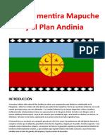 La Gran Mentira Mapuche y El Plan Andinia