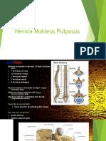 Hernia Nukleus Pulposus TUGAS