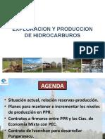 03. Petroproducción. Exploración y Producción de Hidrocarburos