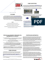 Volantino Matricole matematica LINK a.a.2010_2011