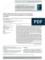 Baseline Placental Growth Factor Levels Fot the Prediction Pf Benefit From Early Aspirin Prophylaxis for Preeclampsia