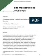 As nações de maracatu e os grupos percussivos- as fronteiras identitárias