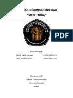 Analisis Lingkungan Internal