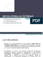 Revocatoria in Extremis