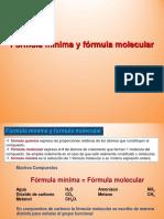 Formula Minima y Formula Molecular