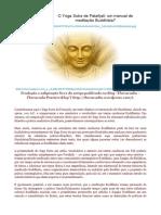 Yogasutra e a Meditação Budista