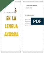 Poesias en Aymara