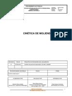 Procedimiento LM CEN Cinética Molienda Nov 2015