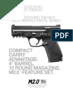 Smith & Wesson M&P2.0 Pistol Specs