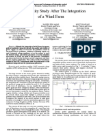 Grid Stability Study After the Integration of a Wind Farm - Amor2015