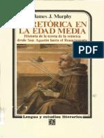 Murphy, James J. - La Retórica en La Edad Media