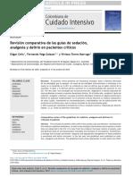 Sedación Analgésicos y Delirio en UCI