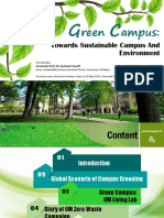 Green Campus - Towards Sustainable Campus and Environment