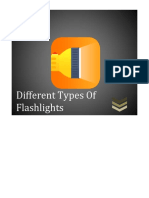 Different Types of Flashlights
