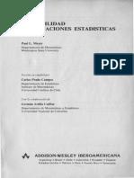 Meyer Paul Probabilidades y Aplicaciones Estadisticas