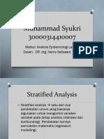 Stratified Analysis