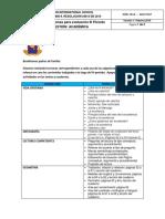Temas Para Las Evaluaciones de 3 Periodo - 2017