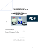 Manual Traducido - Centrifuga Gemmy