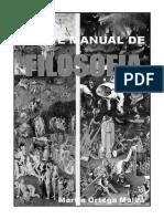 Breve Manual de Filosofía-MartinOrtega