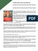 Biografi Sultan Hasanuddin Ayam Jantan Dari Makassar