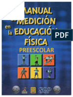 Manual de medición en la educación física PREESCOLAR.pdf