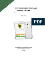 Tutorial Penggunaan Simpeg Online Versi User