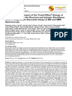Trivedi Effect - Evaluation of the Impact of the Trivedi Effect® -Energy of Consciousness on the Structure and Isotopic Abundance Ratio of Magnesium Gluconate Using LC-MS and NMR Spectroscopy