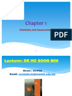 Chapter 1 - Chemistry and Measurement(1)