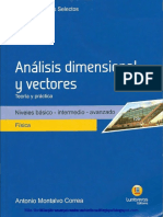 Analisis Dimensional y Vectores