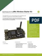 Wstk6202 EZR32LG 915MHz Wireless Starter Kit