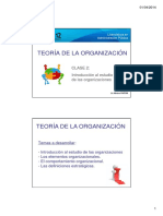 Introduccion Al Estudio de Las Organizaciones