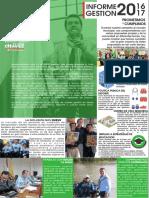 Informe de Gestión Concejal Luis Eduardo Chavez