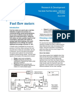 Fuel Flow Meters