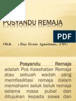 Power Point Posyandu Remaja
