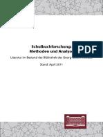 Literaturliste Schulbuchforschung 2011 (1)