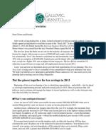 2013 Tax Planning