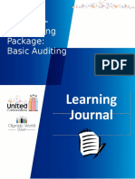 PM 01 Learning Journal