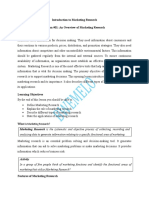LESSON 1; AN OVERVIEW OF MARKETING RESEARCH.doc