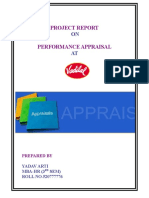 hr project report