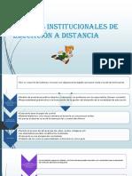 Modelos Institucionales de Educación a Distancia6