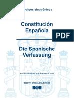 BOE-157 Constitucion Espanola Die Spanische Verfassung
