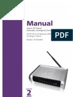 Manual SuperAP Power 78-0454ARB (v1.02) Release4