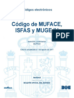 Boe-011 Codigo de Muface Isfas y Mugeju