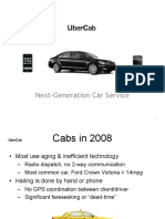 Бизнес-презентация Uber