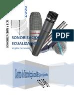 Sonorización y Ecualización